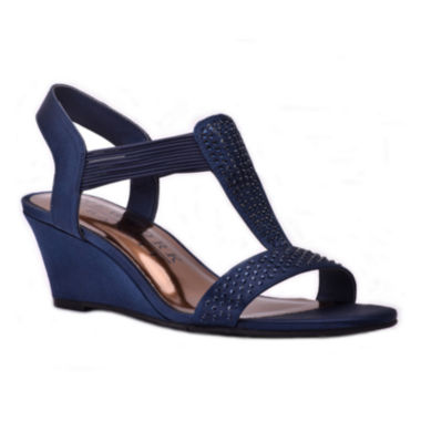 jcpenney.com | New York Transit Great Right 2 Womens Wedge Sandals