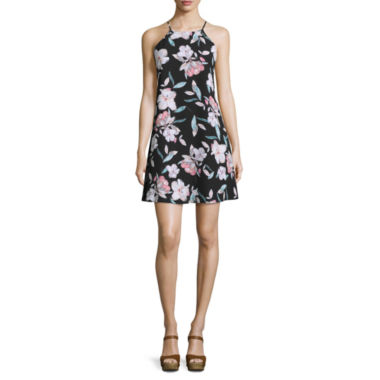 jcpenney.com | Decree® Halter Swing Dress - Juniors