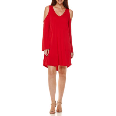 jcpenney.com | Worthington® Cold-Shoulder Shift Dress