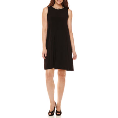 jcpenney.com | Scarlett Sleeveless Shift Dress with Necklace