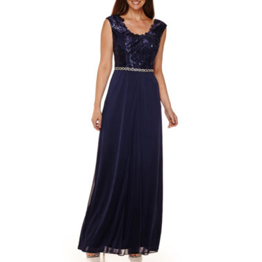 jcpenney.com | Jackie Jon Sleeveless Sequin-Bodice Formal Gown