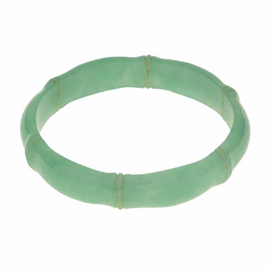 jcpenney.com | Genuine Jade Bamboo Bangle Bracelet