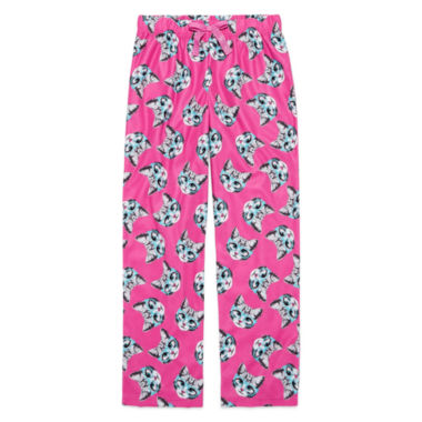 jcpenney.com | Total Girl Pink Cat Pajama Pants - Girls