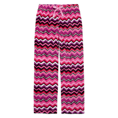 jcpenney.com | Total Girl Multi Chevron Pajama Pants - Girls