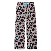 Total Girl Modern Gray Animal Pajama Pants - Girls