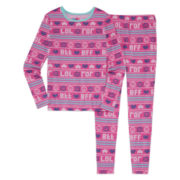 Total Girl 2-pc. BFF Fairisle Tight-Fit Leggings Set - Girls