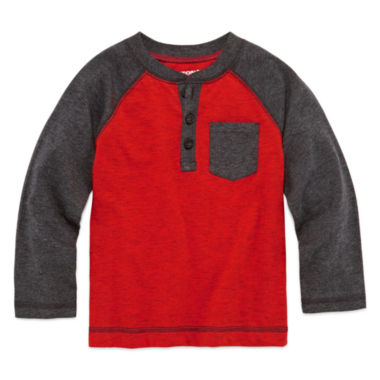 jcpenney.com | Arizona Long-Sleeve Fashion Henley Tee - Toddler Boys 2t-5t
