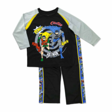 jcpenney.com | Boys Batman Long Sleeve Pant Set-Toddler