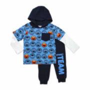 2-pc. Elmo Allover Print Set - Toddler Boys 2t-4t