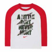 Nike Boys Short Sleeve T-Shirt-Toddler