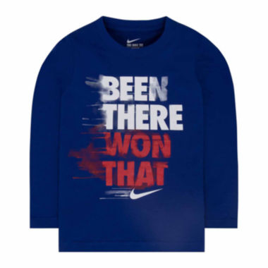 jcpenney.com | Nike Boys Long Sleeve T-Shirt-Toddler