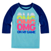 Xersion™ Long-Sleeve Raglan Tee - Preschool Girls 4-6x