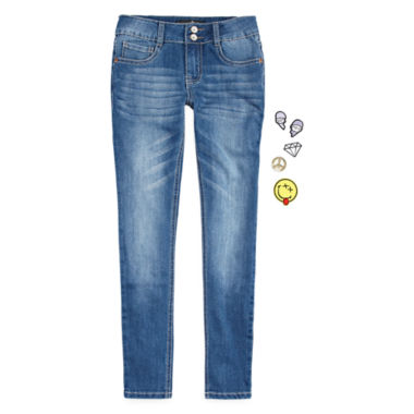 jcpenney.com | Imperial Star Denim Skinny Jeans With DIY Patches - Girls 7-16