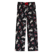 Arizona Black Moose Pajama Pants - Boys 4-20