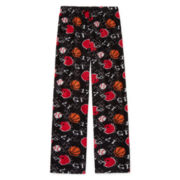 Arizona Microfleece Digi Sport Pajama Pants- Boys 4-20, Husky