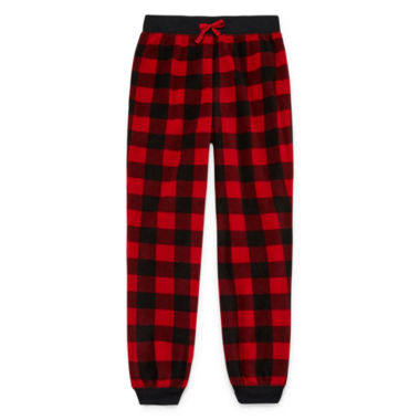 jcpenney.com | Jellifish Kids Red Buffalo Jogger Sleep Pant- Boys 4-16