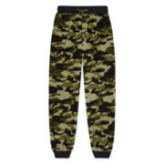Jellifish Kids Green Camo Jogger Sleep Pant - Boys 4-16