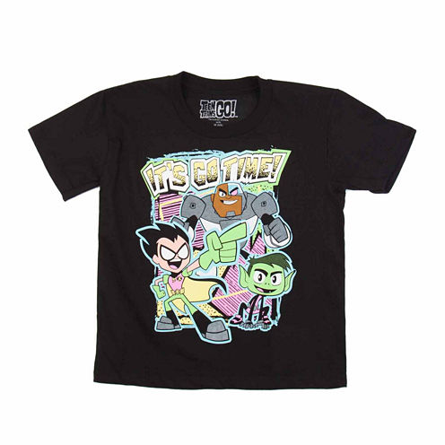 Teen Titans Go! It's Go Time Graphic T-Shirt - Preschool 4-7X