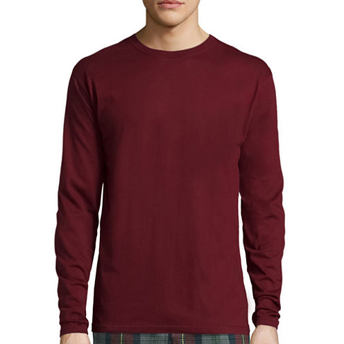 Stafford® Long-Sleeve Tee - Big & Tall