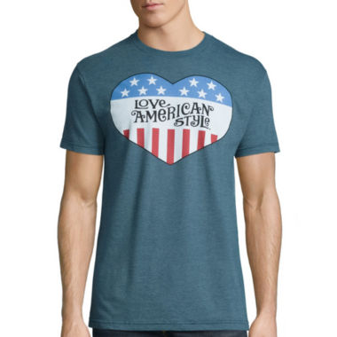 jcpenney.com | Short-Sleeve Love American Style Tee