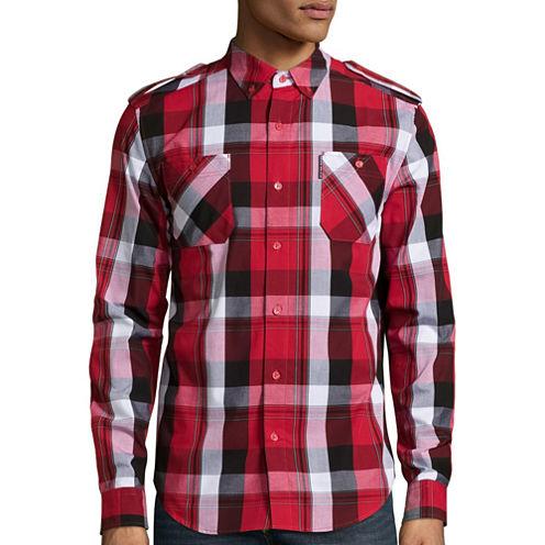 Ecko Unltd.® Long-Sleeve Hudson Woven Top