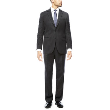 jcpenney.com | Stafford® 100% Wool Super 100s Chalk Stripe Suit Separates - Classic Fit