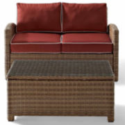 Bradenton 2-pc. Wicker Outdoor Seating Set