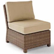 Bradenton Outdoor Wicker Section - Center Chair
