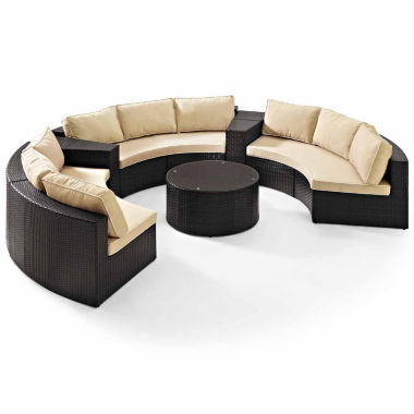jcpenney.com | Catalina Wicker 6-pc. Patio Lounge Set
