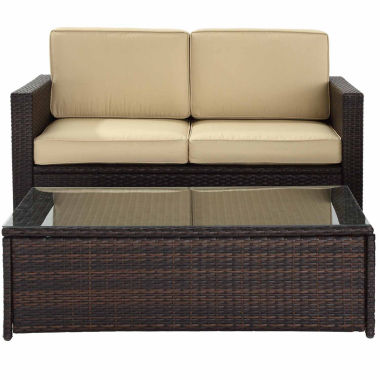 jcpenney.com | Palm Harbor Wicker 2-pc. Patio Lounge Set