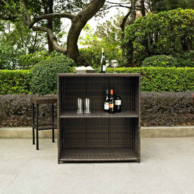 jcpenney.com | Palm Harbor Wicker 3-pc. Patio Bar Set
