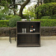 3-pc. Patio Bar Set