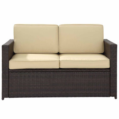 jcpenney.com | Palm Harbor Wicker Patio Sofa