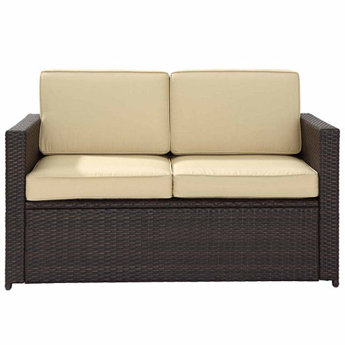 Palm Harbor Wicker Patio Sofa