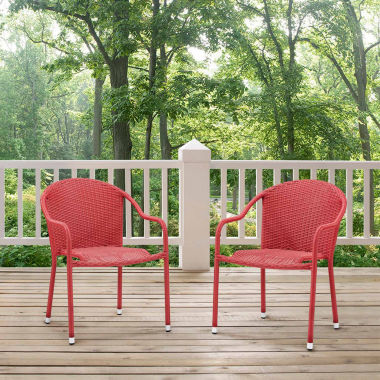 jcpenney.com | Palm Harbor Wicker 2-pc. Patio Dining Chair