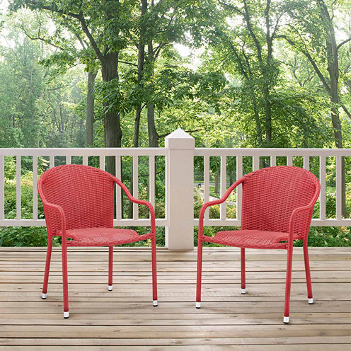Palm Harbor Wicker 2-pc. Patio Dining Chair