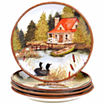 Certified International Lake Life 4-pc. Dinner Plate
