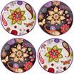 Certified International Coloratura 4-pc. Salad Plate