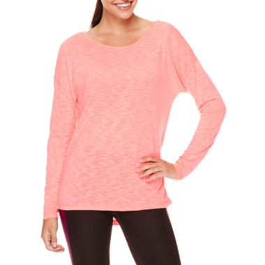 jcpenney.com | Xersion™ Long-Sleeve Cross Back Tee - Tall