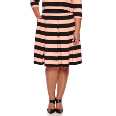 jcpenney.com | Ashley Nell Tipton for Boutique+ Box Pleat Skirt - Plus