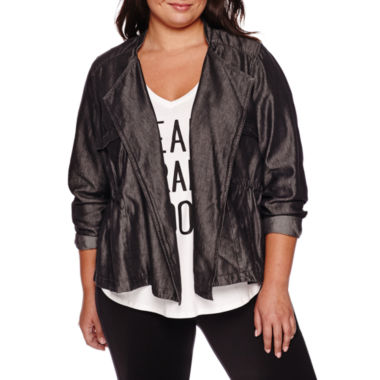 jcpenney.com | Boutique+ Draped Cargo Jacket - Plus