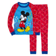Mickey 2-pc. Cotton Pajama Set - Boys