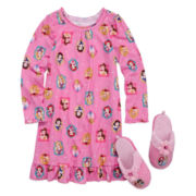 MP Nightshirt, Slippers - Girls