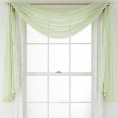 jcpenney.com | MarthaWindow™ Voile Window Scarf
