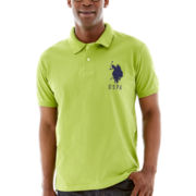 U.S. Polo Assn.® Short-Sleeve Big Pony Pique Polo