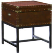 Safe Harbor End Trunk Table