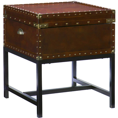 Safe Harbor Trunk End Table