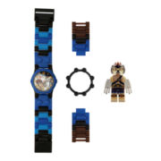 LEGO® Kids Legends of Chima Lennox Minifigure Watch Set