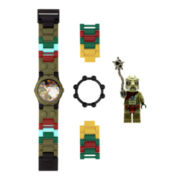 LEGO® Kids Legends of Chima Crawley Minifigure Watch Set