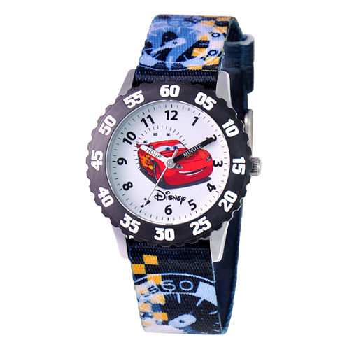 Disney Cars Time Teacher Kids Stainless Steel Watch